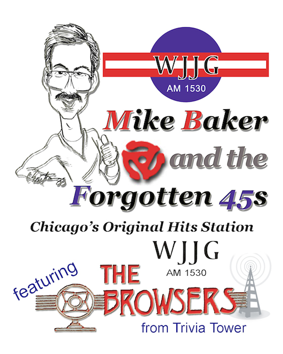 Mike Baker And The Forgotten 45s featuring The Browsers from Trivia Tower